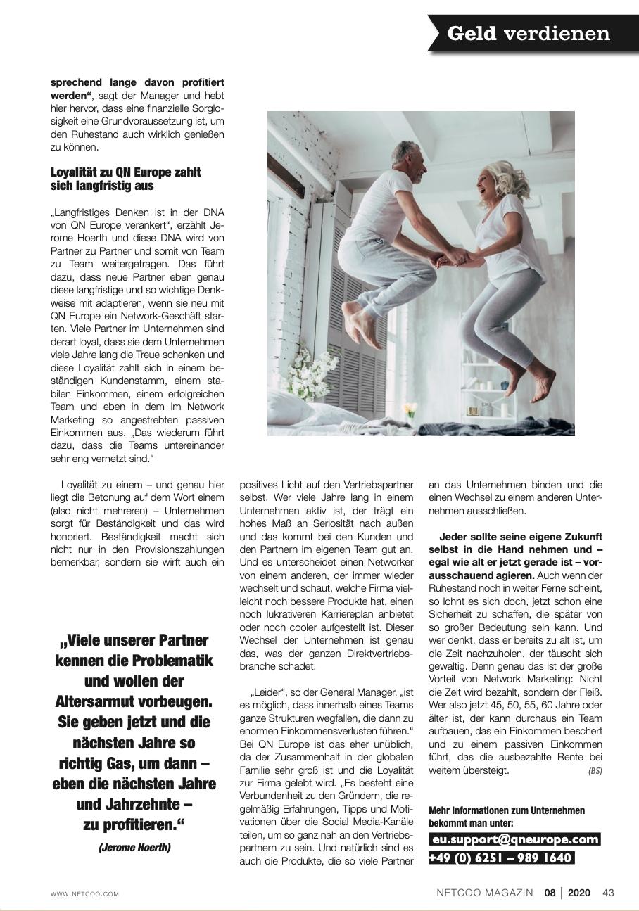 Netcoo Magazin 08.2020