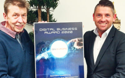 QN Europe erhält Digital Business Award 2020