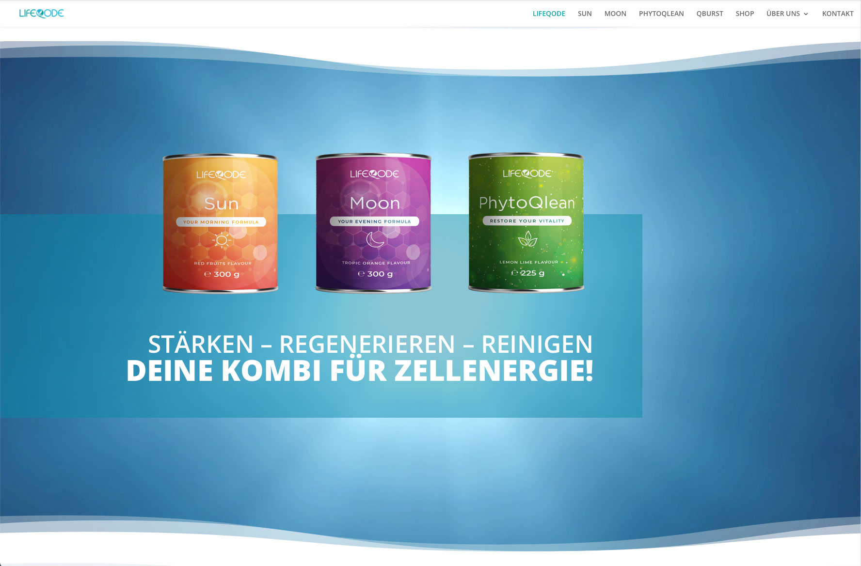 LifeQode Webseite