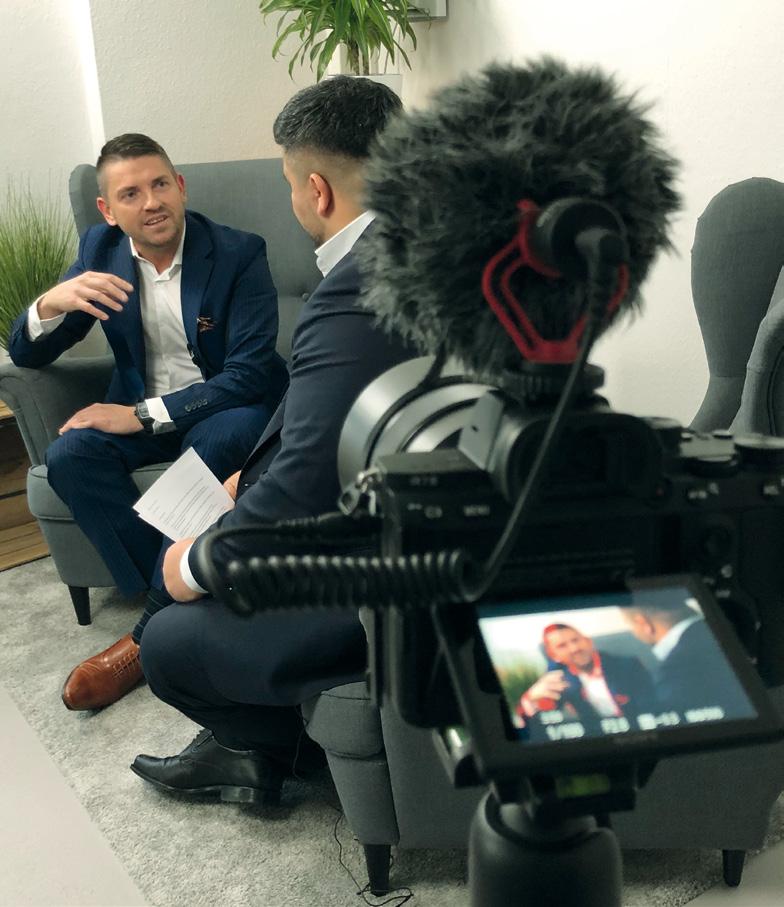 Samer Mohamad im Interview mit Jerome Hoerth